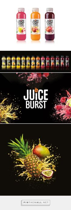 JuiceBurst - Packaging of the World - Creative Package Design Gallery - http://www.packagingoftheworld.com/2016/03/juiceburst.html