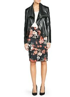 want want want MANGO - PRENDAS - Faldas - Falda lápiz estampado floral