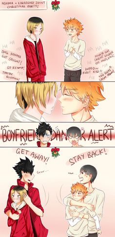 Haikyuu!! Christmas Collab Comic~ by Saracaa on DeviantArt