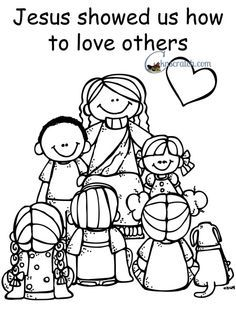 Jesus Showed Us How to Love Others