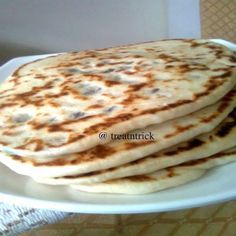 We went for our family dinner few weeks ago and had a North Indian meal consisting naan with chicken and fish dishes. Since then my son . Kashmiri Recipes, Indian Food Recipes, Vegetarian Recipes, Good Food, Yummy Food, Tasty, Naan Recipe, Fish Dishes, Breakfast Time