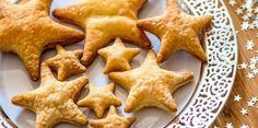 Feuilletés apéritifs de Noël en étoile, Découvrez la recette desfeuilletés apéritifs de Noël en étoile