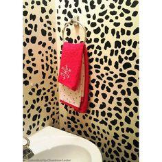 Leopard Skin Allover Stencil