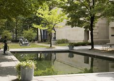 Russell Page Sculpture Garden by Dianna Williams, via Flickr