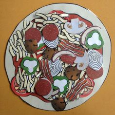 Cut out pizza clip art and have kids build their own pizza to celebrate the 100th day of school.