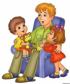 Children And Family, My Family, 8 Martie, Human Drawing, Role Models, To My Daughter, Father, Clip Art, Princess Zelda