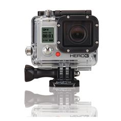 GoPro launches their HERO3 and goes big with huge resolution while lightening the load with a lighter and more compact form factor. The HERO3 ($399) will be available in three configurations: Black, which features a 12MP sensor that can do 4K video at 15fps as well as 1440p at 48fps, 1080p at 60fps, and 720p at 120fps. The HERO3 will also come in an 11MP Silver Edition ($299) and a 5MP White Edition ($199). All will include built-in Wi-Fi and feature Wi-Fi remote and App compatibility.