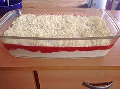 Spaghetti - Eis Dessert (ohne Eis)