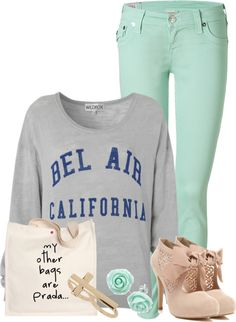 """""""evening in spring."""" by cpharper15 on Polyvore"""