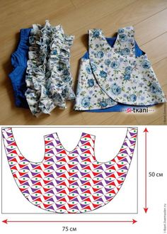 for babies and babies-sewing – - Kindermode Ideen Baby Dress Patterns, Baby Clothes Patterns, Clothing Patterns, Pillowcase Dress Pattern, Kids Patterns, Baby Sewing Projects, Sewing For Kids, Fashion Kids, Toddler Fashion