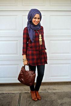 Cute hijab #hijabi #style #fashion