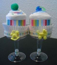 Creative Towel Desert Cakes