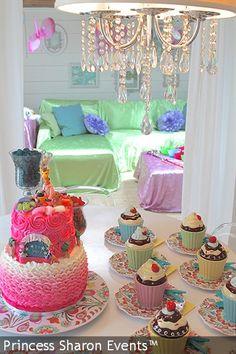 Rainbow Dreams Sleepover Bash!! <3 Www.princesssharon.com