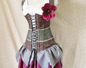 40 DOLLARS OFF Woodland Fairy Corset -For A 28-30 Inch Natural Waist