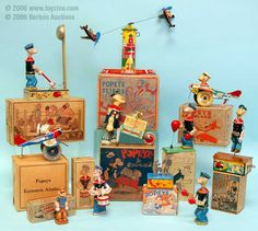 Vintage Collectibles | popeye collectibles