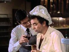 """Murder Under Glass"" Columbo Tv Series, Columbo Peter Falk, The Great Race, 70s Tv Shows, Homicide Detective, Perry Mason, Television Program, February, Cinema"