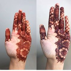 Image may contain: one or more people Modern Henna Designs, Floral Henna Designs, Henna Art Designs, Indian Mehndi Designs, Mehndi Designs For Beginners, Mehndi Designs For Fingers, Wedding Mehndi Designs, Latest Mehndi Designs, Mehandi Designs
