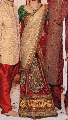 The perfect wedding lehenga.