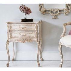 Antique White Table