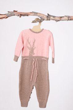 Mole little Norway, rosa heldrakt hjort