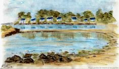 Painting, Art, Gardens, Drawings, Art Background, Painting Art, Kunst, Paintings, Performing Arts
