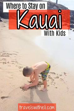 Planning a family vacation to Kauai Hawaii? Find the perfect part of the island for your family to stay with this in-depth guide - Where To Stay In Kauai With Kids #travelswitheli.com Hawaii Vacation Tips, Hawaii Travel, Toddler Travel, Travel With Kids, Kilauea Lighthouse, Poipu Beach, Hanalei Bay, Waimea Canyon, Family Destinations