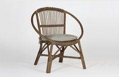 Mercury Vintage-Style Rattan Chair