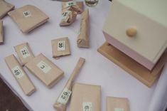 DIY Village Fete Wedding Tombola Raffle Game http://www.rebeccadouglas.co.uk/blog/