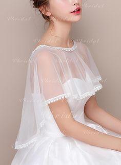 Stola bordo weiss ivory 70 x 200 cm Schal zu Brautkleid Ballkleid Abendkleid neu