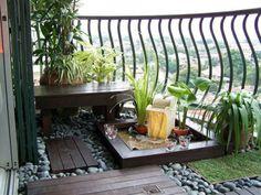 Condo Balcony Design Ideas Layout 10 On Amazingly Pretty Decorating Ideas For Tiny Balcony Spaces Stylish Small Balcony Design, Small Balcony Garden, Terrace Design, Garden Design, Balcony Ideas, Small Balconies, Balcony Gardening, Small Terrace, Gardening Tips