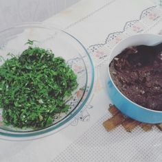 """Tutu de feijão e couve! Almoço """"mineirim"""" #homemade"""