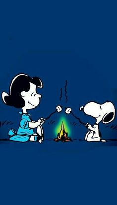 SNOOPY AND LUCY!