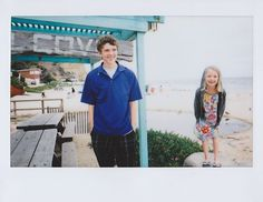 Fuji Instax works well on bright cloudy days