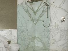 Kamenné obklady do koupelny na knihu Cladding, Architecture Design, Curtains, Bathroom, Washroom, Architecture Layout, Blinds, Full Bath, Draping