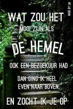 Als 't toch eens kon ! Quotes Gif, Words Quotes, Love Quotes, Sayings, Inspirational Quotes, Laura Lee, Happy Birthday In Heaven, Dutch Quotes, In Loving Memory
