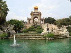 Ciutadella Park - Barcelona, Spain
