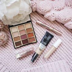 Drugstore Valentine's Day Makeup look! Under $50 / Elf CC cream / Milani neutral matte eyeshadow palette / Lash Paradise mascara / Elf Hydro concealer / Loreal nude lip balm #LTKVDay #LTKSeasonal #LTKbeauty