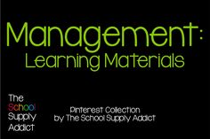 Pinterest Collection: Management of learning materials