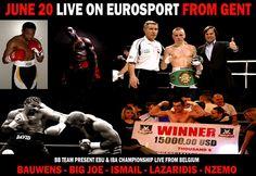 Bigger`s Better Boxing Belgium Results - Ergebnisse