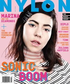 NYLON June/July 2015 music issue | Marina and the Diamonds | Read the cover story
