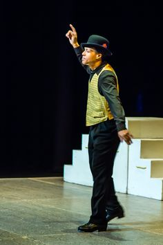 """Troy McLaughlin's tribute to Bill 'Bojangles' Robinson, part of his most recent work """"I Have a Dream"""", which premiered at Dance Allsorts Sunday, February Images courtesy of Allan Beaton. February 9, I Have A Dream, New Words, Troy, It Works, Sunday, Hipster, Dance, News"""