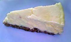 Low carb, sugar-free creamy cheesecake HCG P3