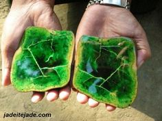 jadeite - in 1863 a Frenchman, Alexis Damour, discovered that jade was actually two different minerals: jadeite and nephrite.  Jadeite is an aluminum-rich pyroxene while nephrite is a magnesium-rich amphibole.