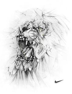 NIKE LION on Behance: