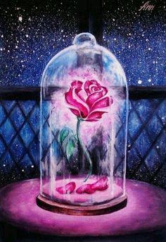 Imagem de disney, beauty and the beast, and rose