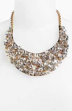 Statement bib necklace. Absolutely gorgeous!