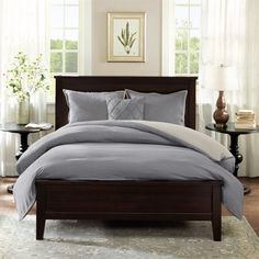 For a causal, yet sophisticated look the Harbor House Linen Duvet is the perfect bedding set. Made from 100% linen the simple design offers comfort and luxury. The duvet is fully reversible so you can easily change the look of your bedroom. Includes 2 shams to complete the look and is machine washable for easy care.
