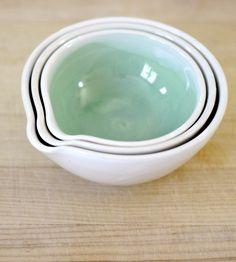 Nesting Prep Bowls - Set of 3 | Home Kitchen & Pantry | Center Ceramics | Scoutmob Shoppe | Product Detail