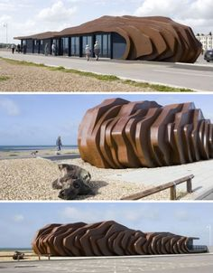 A cafe in Littlehampton, UK. I now want to visit Littlehampton. Wow.