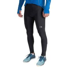 The North Face Winter Warm Running Tights (For Men) in Tnf Black - Closeouts